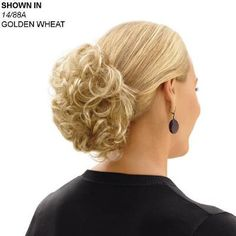 Short Wavy Clip-On Hair Piece by Paula Young®