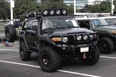 A mix of awesome vehicles