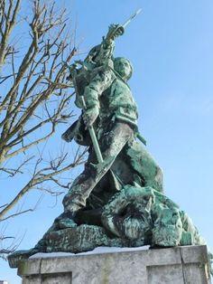 Monument aux morts de 1870 – Dieppe. Haute-Normandie