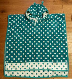Hooded Poncho Towel Free Sewing Pattern