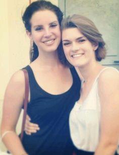 Lana Del Rey with a fan in France #LDR
