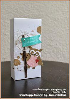 www.bestempelt.de: Eine Taschentücher-Box für Herbst-Schniefnasen