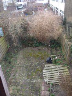 Zo was de tuin eerst