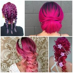 Magenta Hair Color Ideas for 2017