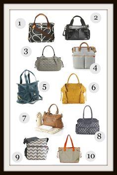 10 Stylish Diaper Bags