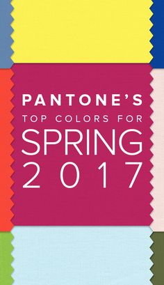The Pantone Spring Summer colors for 2017 are officially out. Here's how to rock these colors in your home. Color Trends, Color Combos, Design Trends, Design Ideas, Creative Inspiration, Color Inspiration, Color Of The Year 2017, Spring Summer, Textiles