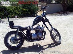 Resultado de imagem para bmx handlebar on motorcycle brat