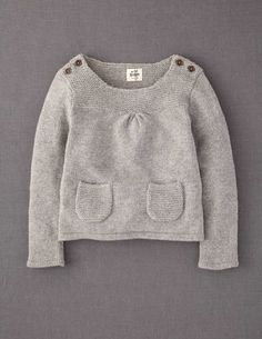 Boden Winter- button shoulder sweater