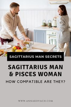 Sagittarius man with Pisces woman is a strange mixture that can go either way with love. Can these two actually make it work with all their differences? Possibly but it depends on each individual and their surroundings. Keep reading for more information on what this water with air combination has to offer. #zodiac #horocsope #sign #astrology #love #relationship #dating #sagittarius #man #pisces #woman #compatibility #match #couple #dating_sagittarius #dating_pisces #best_match #in_love…