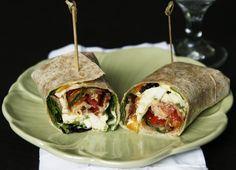 ... wraps on Pinterest | Chicken wraps, Southwest chicken wraps and Salad