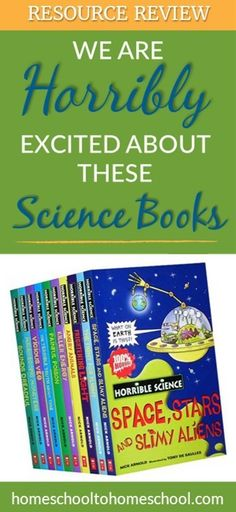I'm excited about these Horrible Science books Science Curriculum, Science Resources, Homeschool Curriculum, Science Activities, Science Experiments, Reading Resources, Homeschooling, Science Guy, Science Books