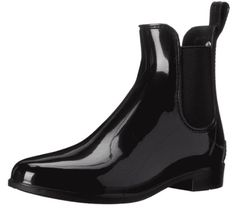 Shop a great selection of Sam Edelman Women's Tinsley Rain Boot. Find new offer and Similar products for Sam Edelman Women's Tinsley Rain Boot. Best Rain Boots, Cute Rain Boots, Chelsea Rain Boots, Rain Shoes, Cool Boots, Black Polish, Living At Home, Long Toes, Black Ankle Boots