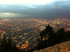 City view from Monserrate