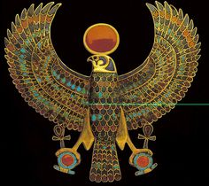 tutankhamun | Flickr - Photo Sharing! Loving Egyptian designs. The colors & gold