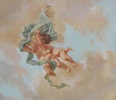 Renaissance Kunst, Renaissance Paintings, Classic Paintings, Old Paintings, Angel Aesthetic, Aesthetic Art, Art Romantique, Baroque Painting, Angel Wallpaper