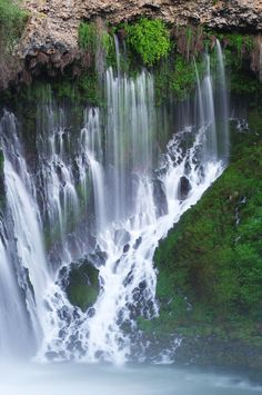 ✯ Burney Falls - MacArthur / Burney Falls State Park, California - vacationed there every summer as a kid
