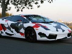 Lamborghini Gallardo Camo-Fail by Cam-Shaft