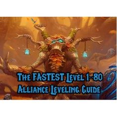 wow alliance leveling guide