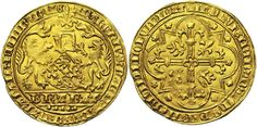 Low Countries/Brabant AV Lion d'or de Brabant ND 1409/11 Vilvorde Mint Duc Antoine de Bourgoyne 1406-15/ Duc de Brabant et de Limbourg