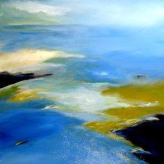 Nelly van Nieuwenhuijzen - The coast touching the sea