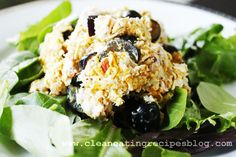 Clean Eating Lunch Idea – Curry Chicken Salad   Clean Eating Recipes - Clean Eating Diet Plan Made Easy