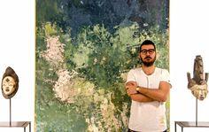 gabongabon.com #gabongabon #abstract #abstractart #abstract art #contemporary art #green #gabongabon.com #modern painting #astratto #quadroastratto #artecontemporanea #vernici #stucchi#artecontemporanea