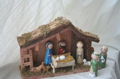 The Birth of Jesus and the Adoration of the Shepherds