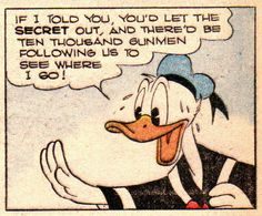 Donald Duck by Carl Barks [W WDC 081-05]