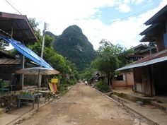 Muang noi streets