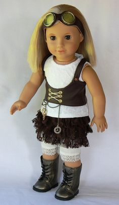 18 Doll Clothes  Navigator  5 Piece Outit to by DollTagClothing
