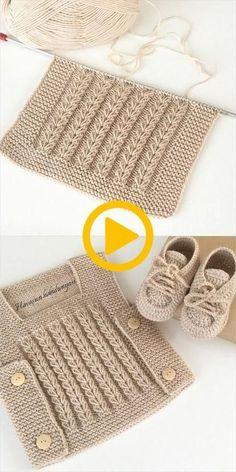 False Hair Braid Baby Vest Braid Model - Knitting New Diy Crochet Sweater, Knitted Baby Cardigan, Crochet Clothes, Crochet Baby, Knit Crochet, Baby Knitting Patterns, Baby Boy Knitting, Baby Patterns, Crochet Patterns