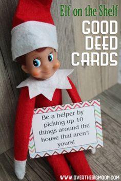 Printable Good Deed Cards