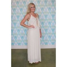 null White Maxi Dress Clothing Arkansas