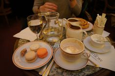 Angelina's, Paris. A must-do! Best hot chocolate in Paris!
