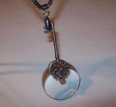 Magnifying Glass Skeleton Key Handle Oxidized by JENSTARDESIGNS, $34.99