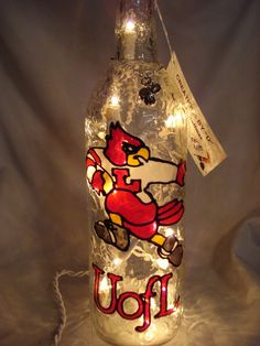 U of L  University of Louisville Cardinals by PaintingCreationsByD, $29.95
