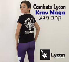 Camiseta Feminina Lycan | Krav Maga #LycanFightWear #KravMaga #CamisetasLycan