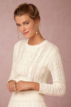 Pilar Earrings in Bride Bridal Jewelry Earrings at BHLDN