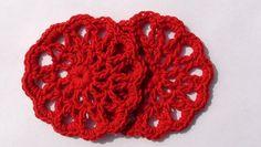 Crochet coaster freebie pattern, nice. Thanks so xox