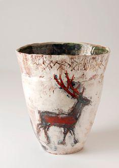 I love the red deer -Jacqueline Leighton-Boyce