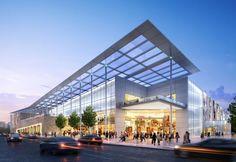 shopping centre architecture - Google Search