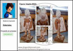 OSCAR FUILLERAT CRUZ: Figura: Vegeta (BDZ)
