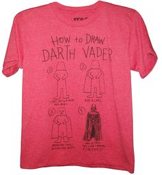 How to draw Vader.