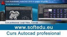 Curs profesional Autocad 2015, 2016, 2017   Anunturi Muntenia