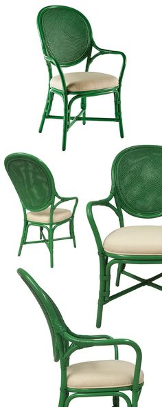 It's fresh, airy, and colorful, and it's perfect for your sunroom or dining space. We fell for the Charade Arm Chair's contemporary tropical motif, but we know it's versatile silhouette fits anywhere. ...  Find the Charade Arm Chair, as seen in the Accent Chairs Collection at http://dotandbo.com/category/furniture/chairs/accent-chairs?utm_source=pinterest&utm_medium=organic&db_sku=117255