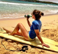 #beer #pretty #girl #surf #beach #beauty #color #day #lovely #summer