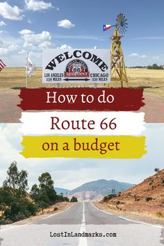 The route 66 road trip can cost as little or as much as you like. Here's how we did the classic USA road trip on a budget and what we spent driving route 66 #route66 Driving Route 66, Old Route 66, Route 66 Road Trip, Historic Route 66, Road Trip Usa, Road Trip On A Budget, Road Trip Hacks, Road Trip Destinations, Bucket List Destinations