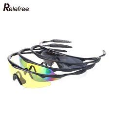 Ochrona UV400 Okulary Sportowe Taktyczne Airsoft Ochrony Słońce Okulary Mans Mountain Bike Kolarstwo Piesze Wycieczki Hot