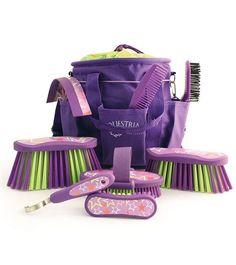 Equestria™ LUCKYSTAR™ Grooming Brush Kit - Blackberry Purple