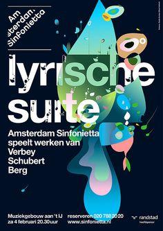 Sinfonietta / Dumbar / Ties Alfrink  #posterdesign, #graphicdesign, #typography  #Art #Artdirector #poster #Artwork #VisualGraphic #Mixer #Composition #Communication #Typographic #Work #Digital #Design #pin #repin #awesome #nice